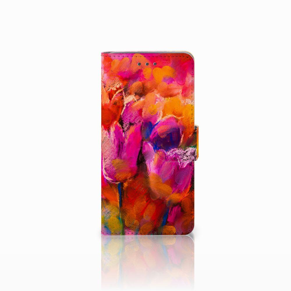 Wiko Lenny 2 Boekhoesje Design Tulips