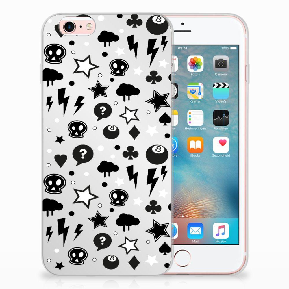 Apple iPhone 6 | 6s Uniek TPU Hoesje Silver Punk