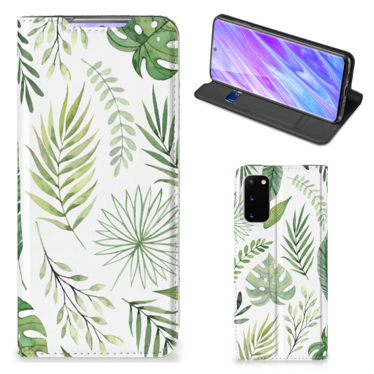 Samsung Galaxy S20 Smart Cover Leaves