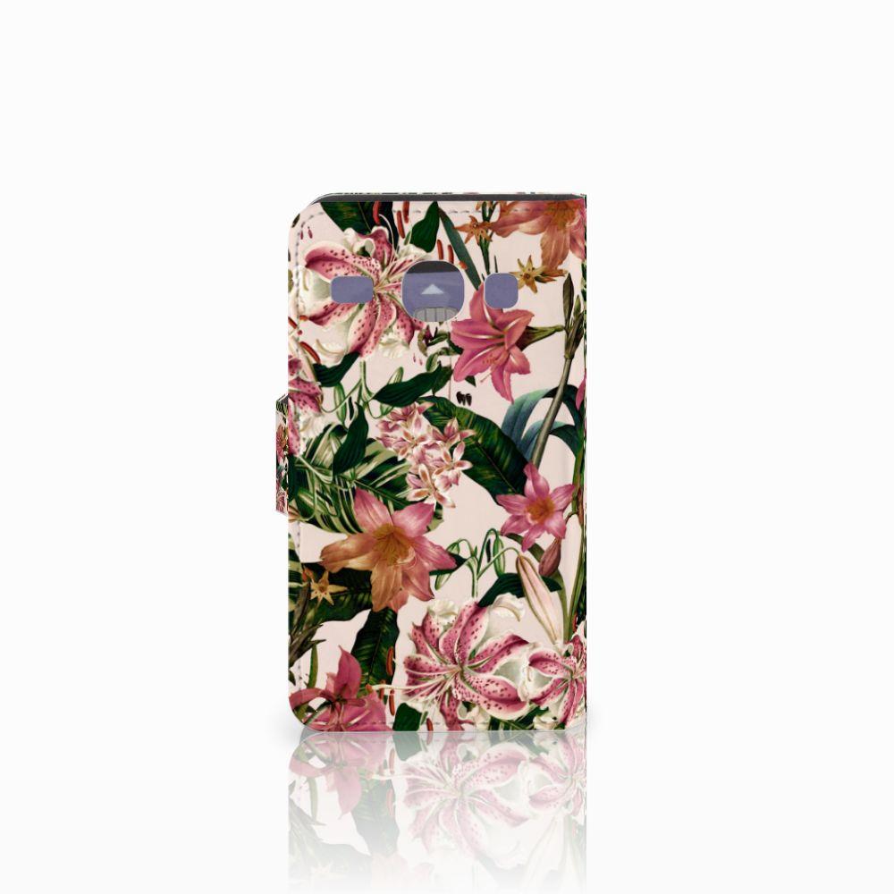 Samsung Galaxy Core i8260 Hoesje Flowers