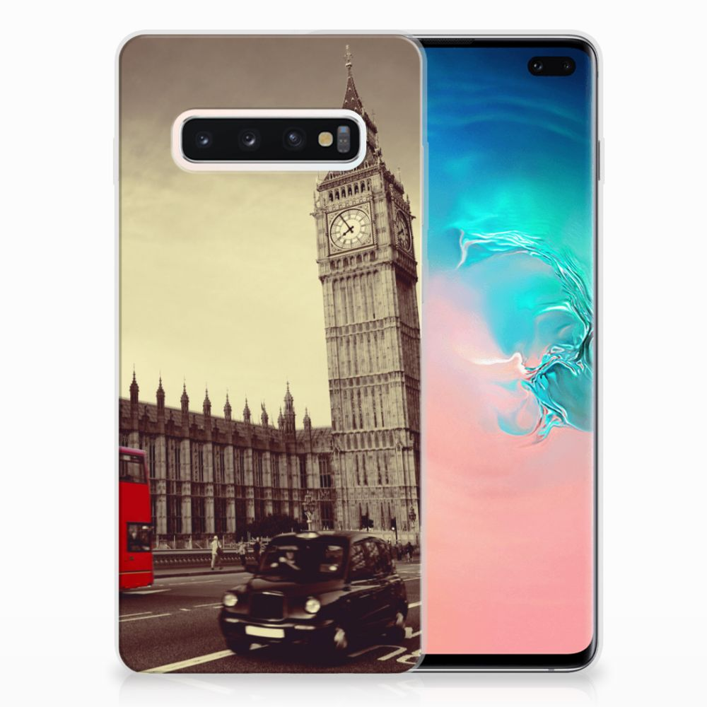 Samsung Galaxy S10 Plus Siliconen Back Cover Londen