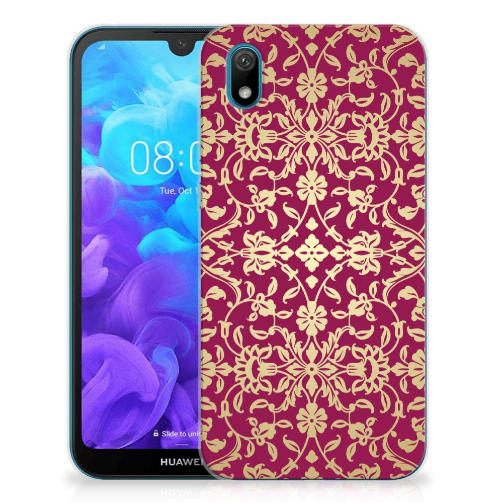 Siliconen Hoesje Huawei Y5 (2019) Barok Pink