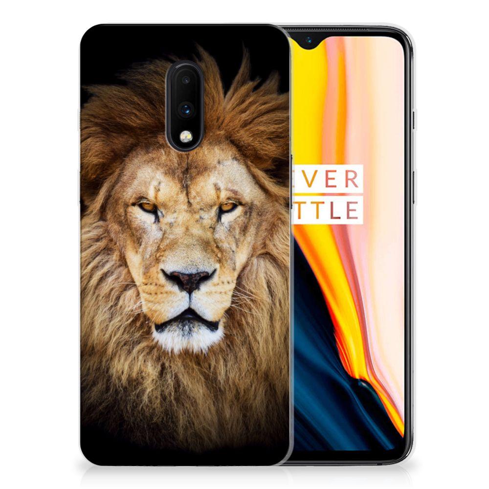 OnePlus 7 TPU Hoesje Leeuw