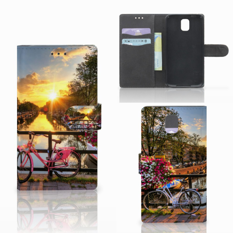 Samsung Galaxy Note 3 Flip Cover Amsterdamse Grachten