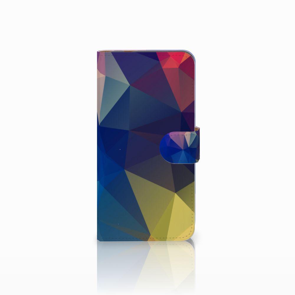 Huawei Nova Plus Uniek Boekhoesje Polygon Dark
