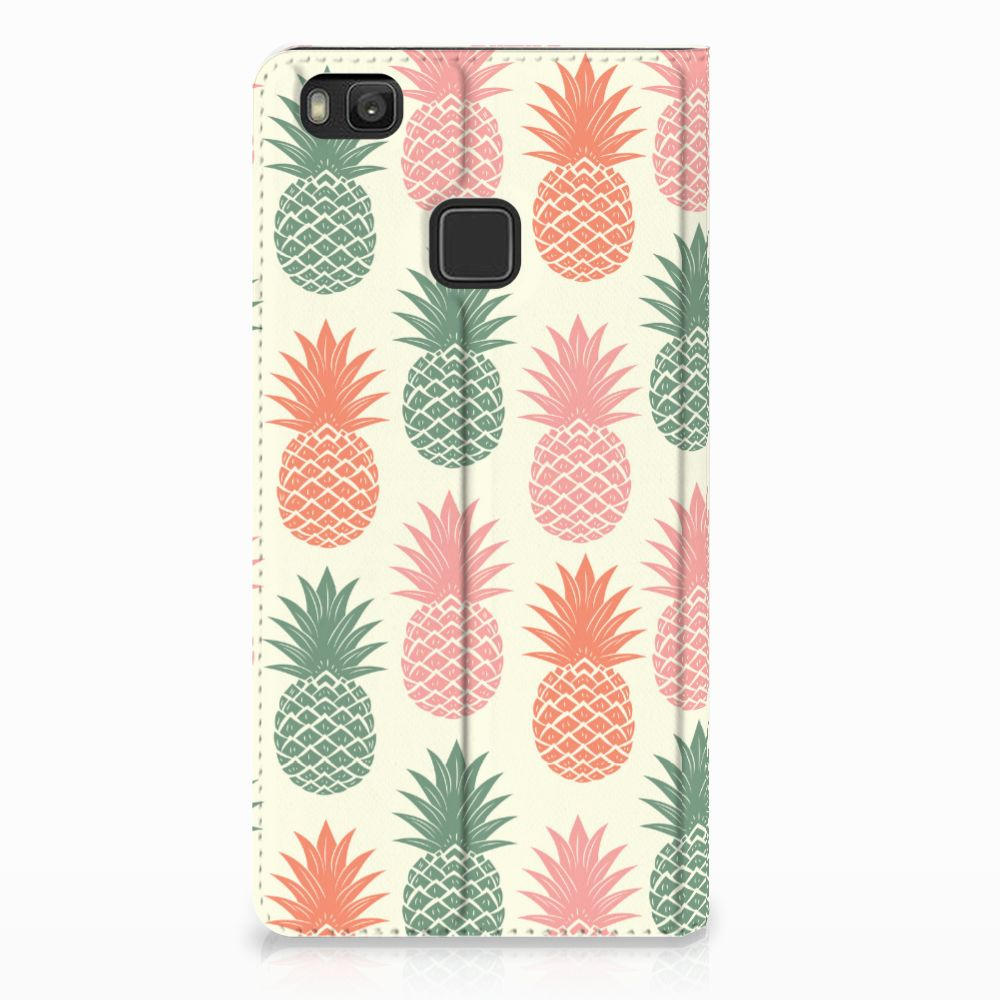 Huawei P9 Lite Standcase Hoesje Design Ananas