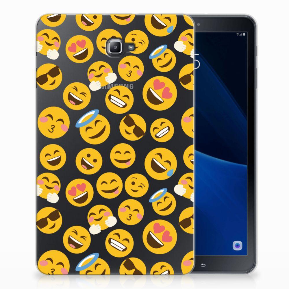 Samsung Galaxy Tab A 10.1 Tablethoesje Design Emoji