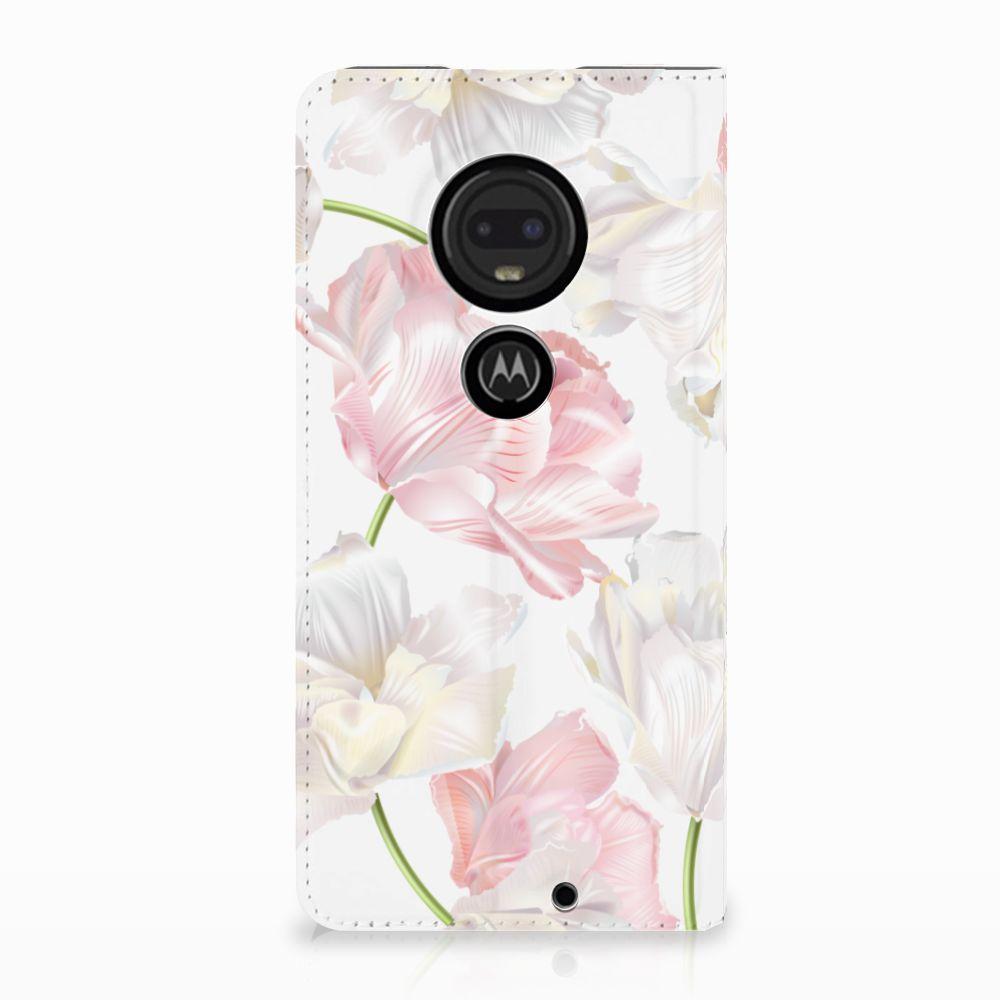 Motorola Moto G7 | G7 Plus Standcase Hoesje Design Lovely Flowers