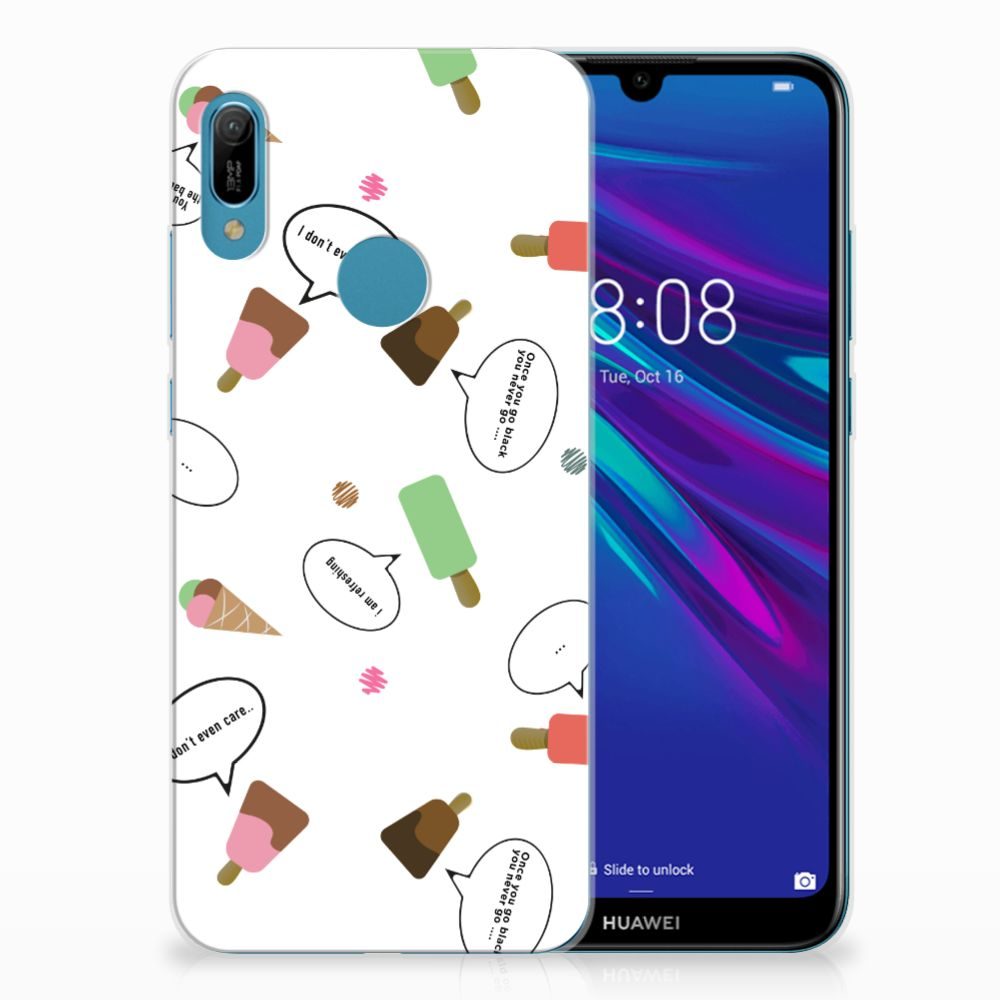 Huawei Y6 2019 | Y6 Pro 2019 Siliconen Case IJsjes