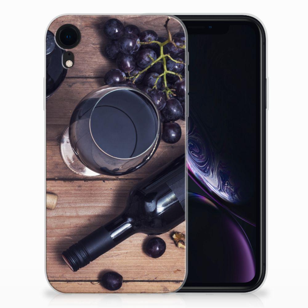 Apple iPhone Xr Siliconen Case Wijn