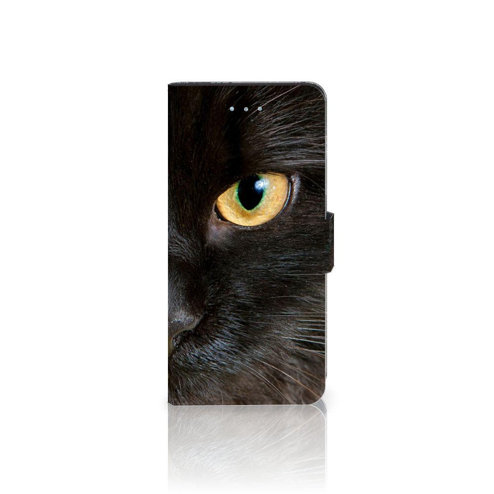 Apple iPhone 6 Plus | 6s Plus Uniek Boekhoesje Zwarte Kat