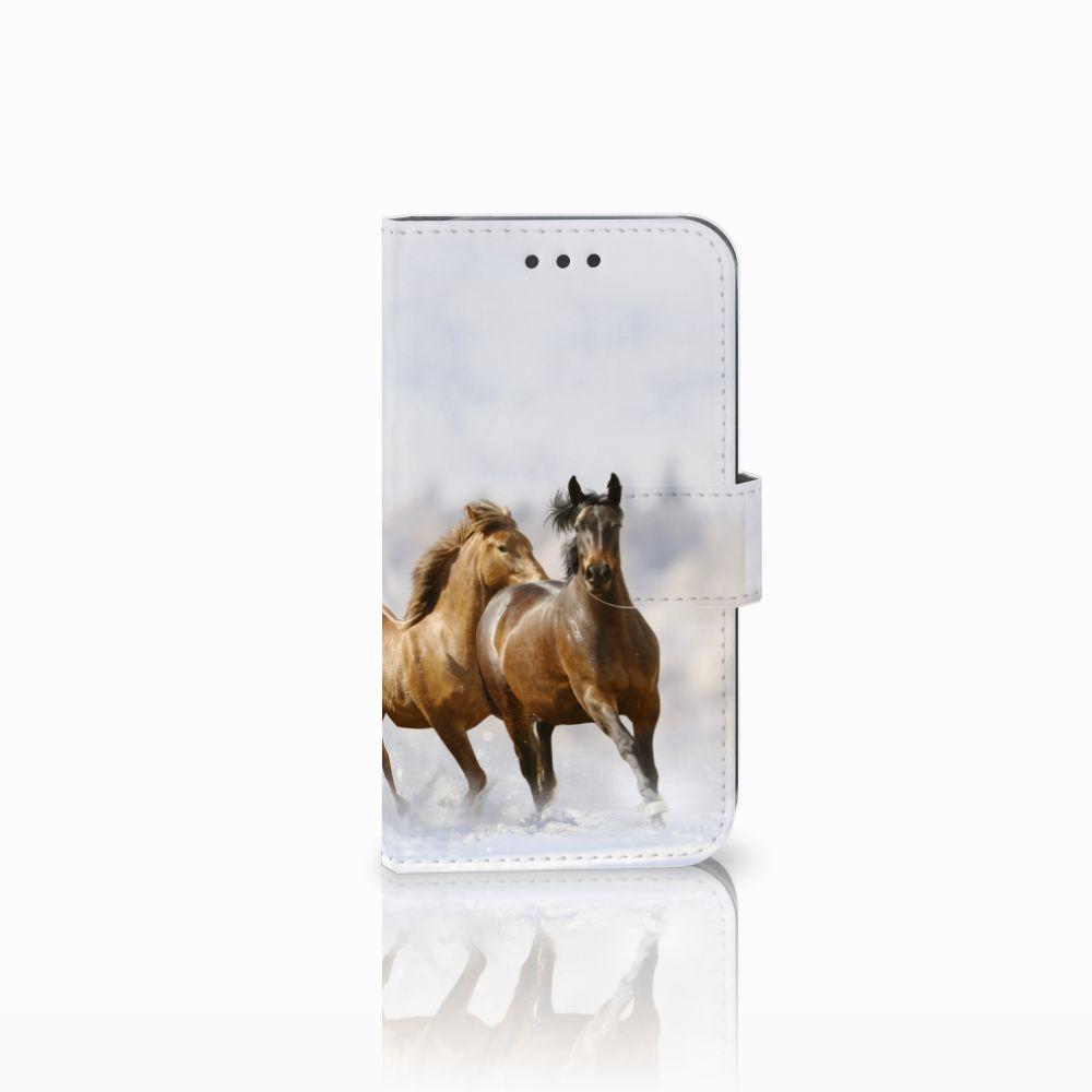 Samsung Galaxy S3 i9300 Uniek Boekhoesje Paarden