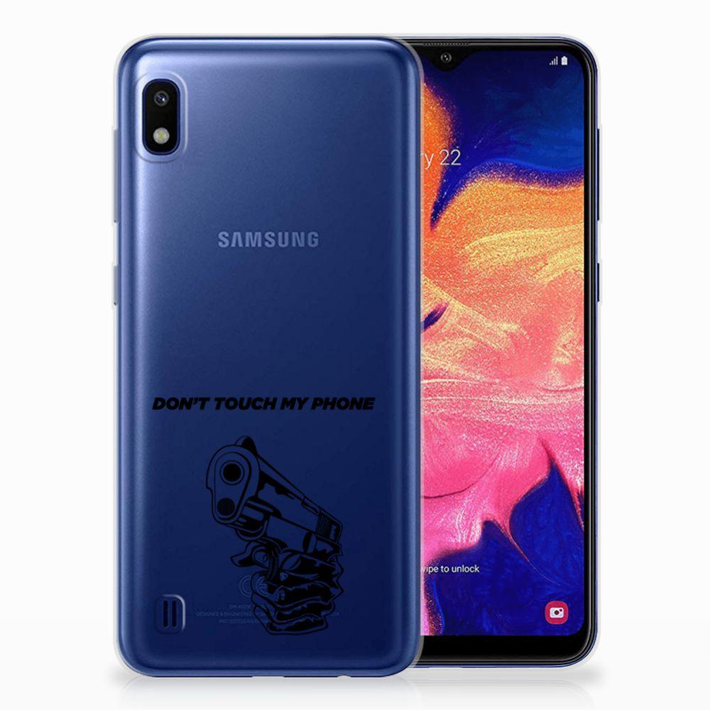 Samsung Galaxy A10 Uniek TPU Hoesje Gun DTMP