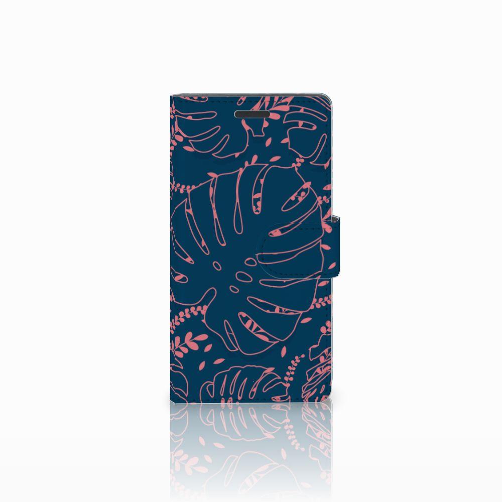 Nokia Lumia 830 Boekhoesje Design Palm Leaves