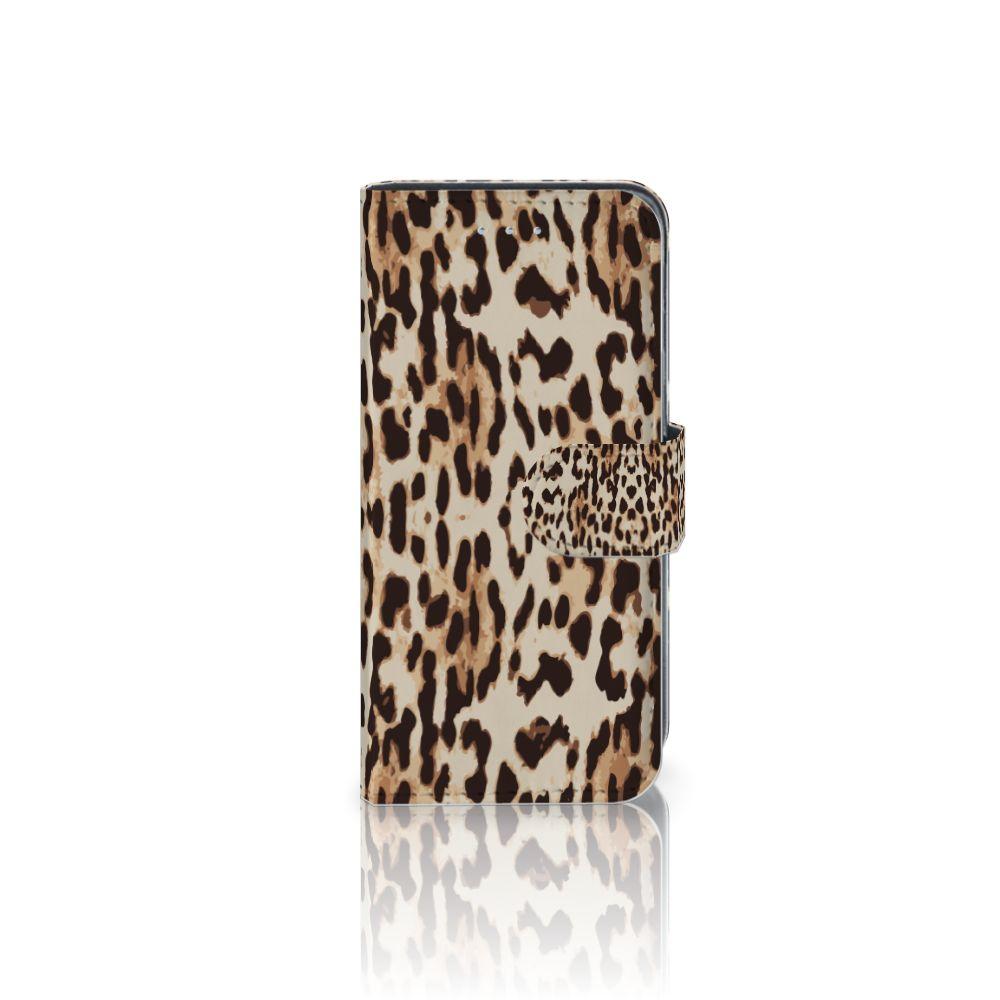 Samsung Galaxy A5 2016 Uniek Boekhoesje Leopard