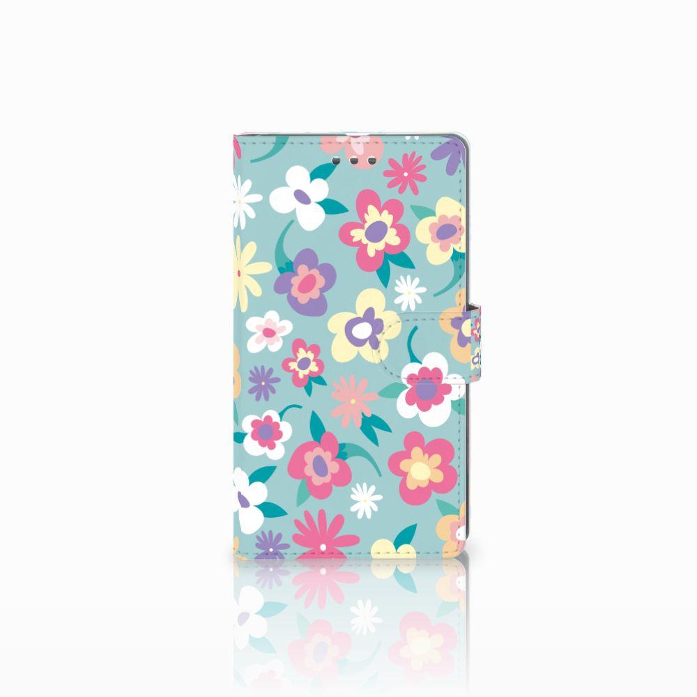 Microsoft Lumia 950 XL Boekhoesje Design Flower Power