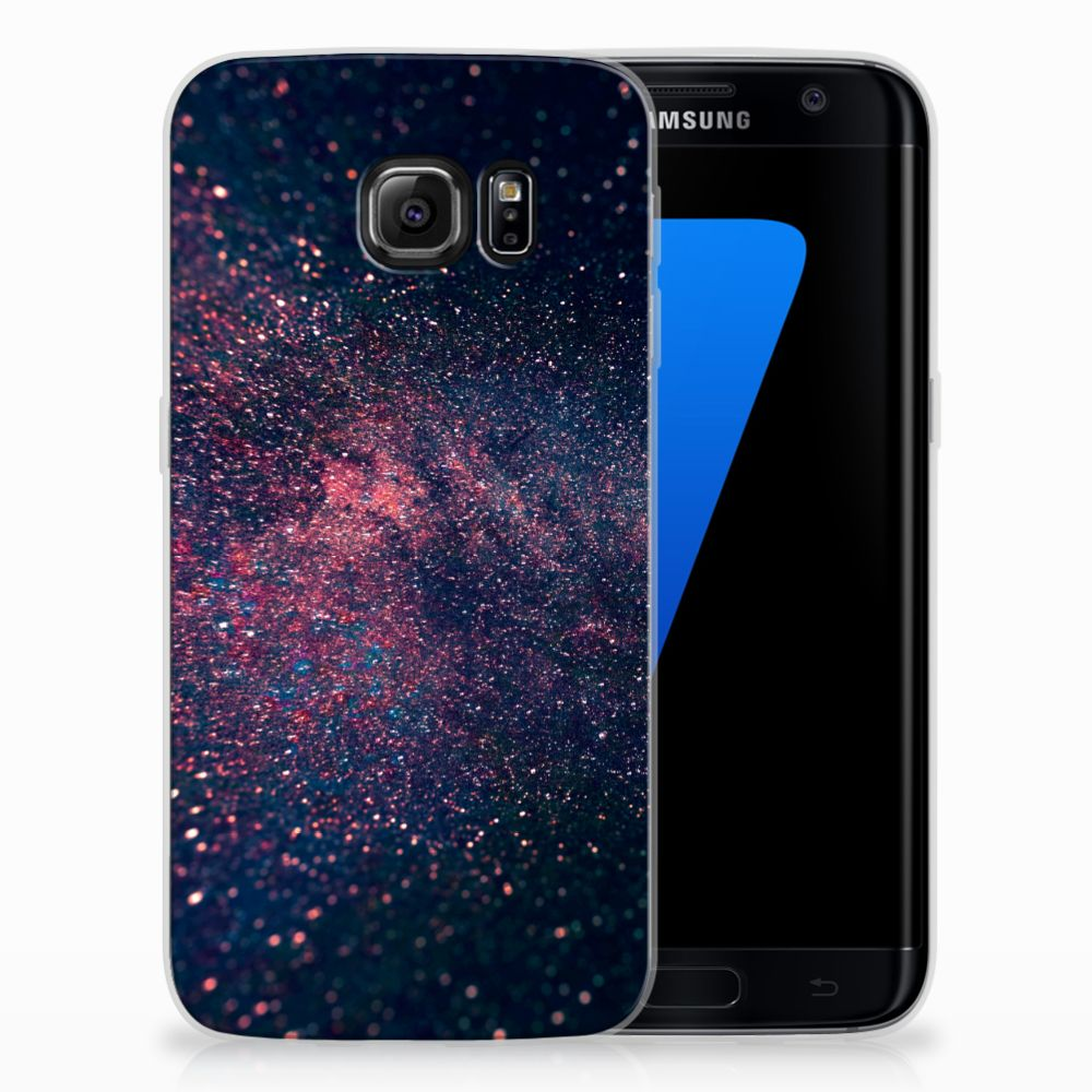 Samsung Galaxy S7 Edge TPU Hoesje Stars