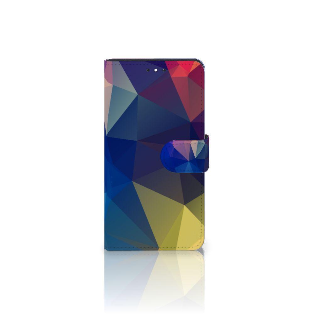 Motorola Moto G5S Plus Bookcase Polygon Dark