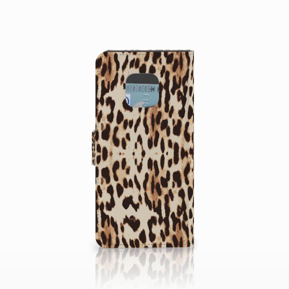 Huawei Mate 20 Pro Telefoonhoesje met Pasjes Leopard