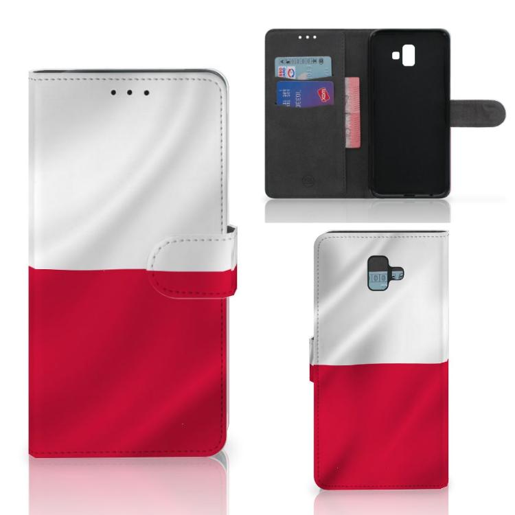Samsung Galaxy J6 Plus (2018) Bookstyle Case Polen