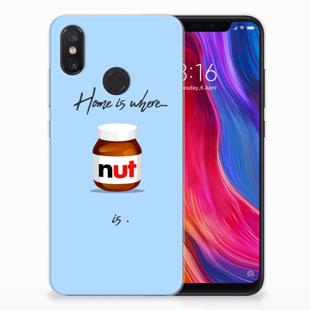Xiaomi Mi 8 Siliconen Case Nut Home