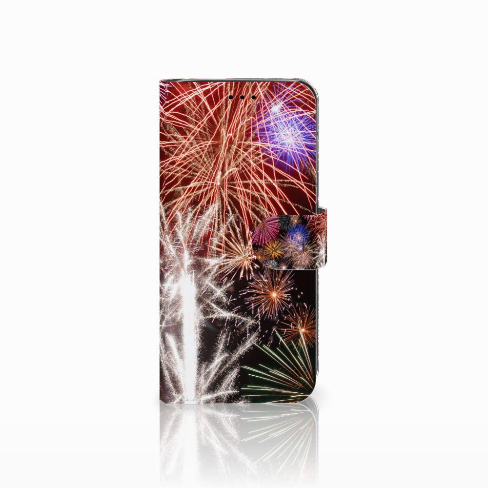Huawei P20 Lite Boekhoesje Design Vuurwerk