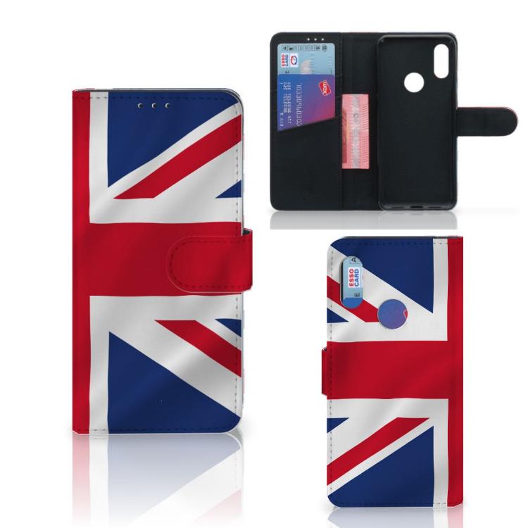 Xiaomi Redmi 7 Bookstyle Case Groot-Brittannië