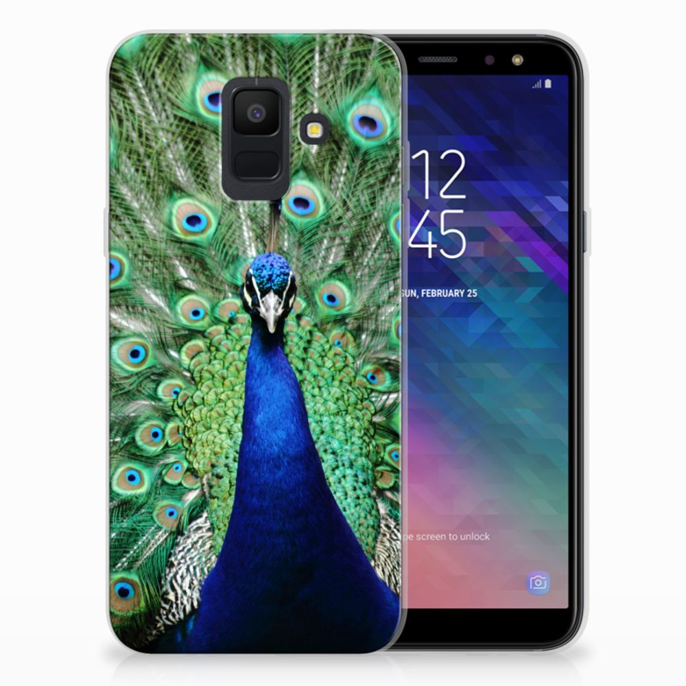Samsung Galaxy A6 (2018) TPU Hoesje Pauw