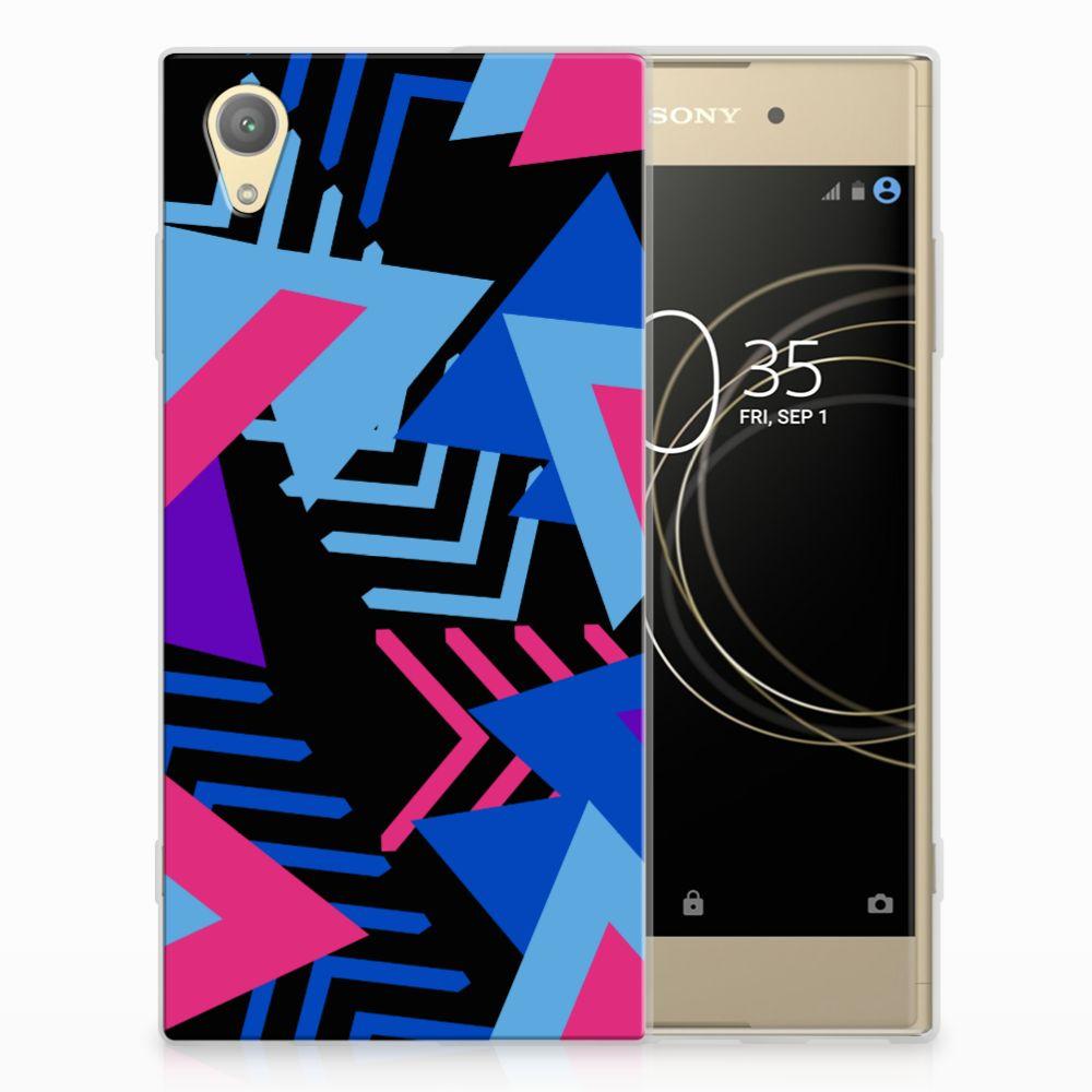 Sony Xperia XA1 Plus TPU Hoesje Funky Triangle