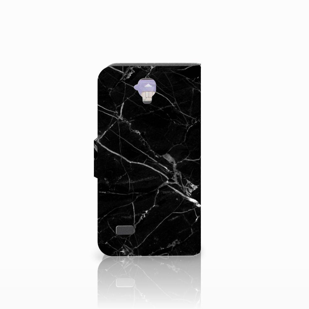 Huawei Y5 Y560 Bookcase Marmer Zwart
