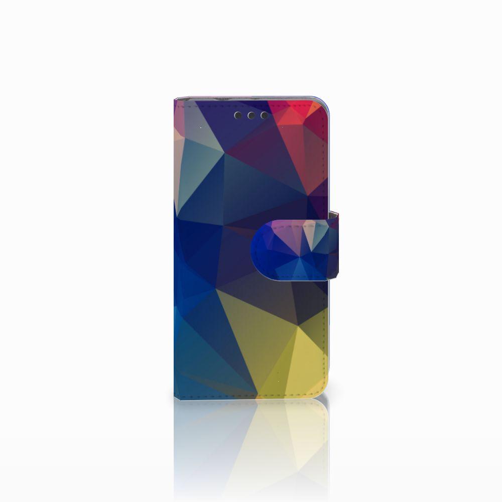 Sony Xperia Z3 Compact Uniek Boekhoesje Polygon Dark