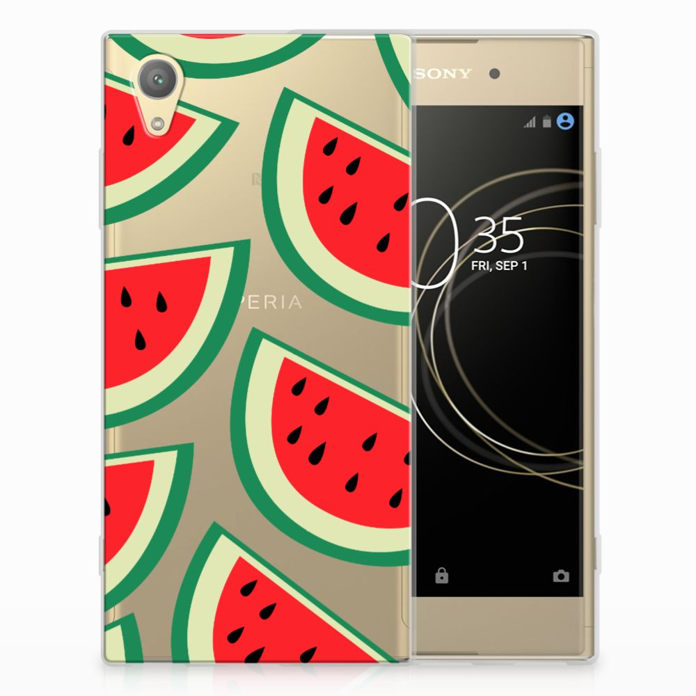 Sony Xperia XA1 Plus Siliconen Case Watermelons