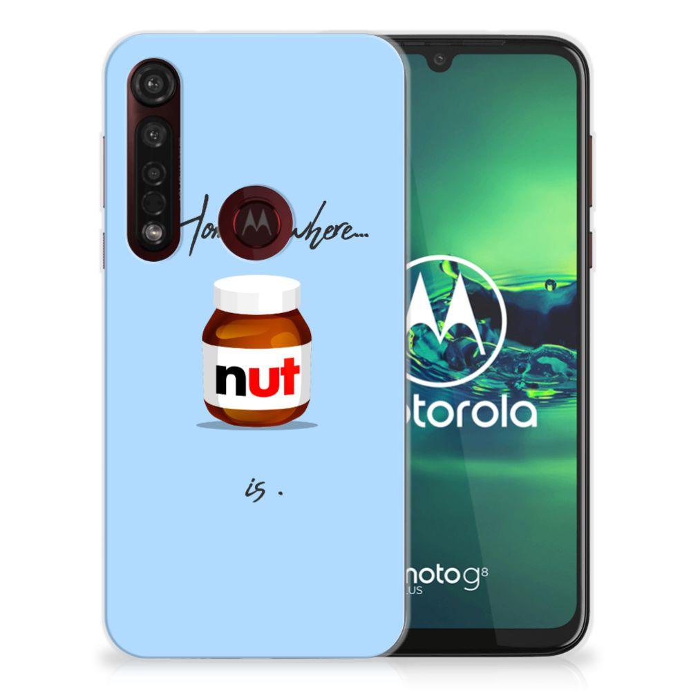 Motorola Moto G8 Plus Siliconen Case Nut Home