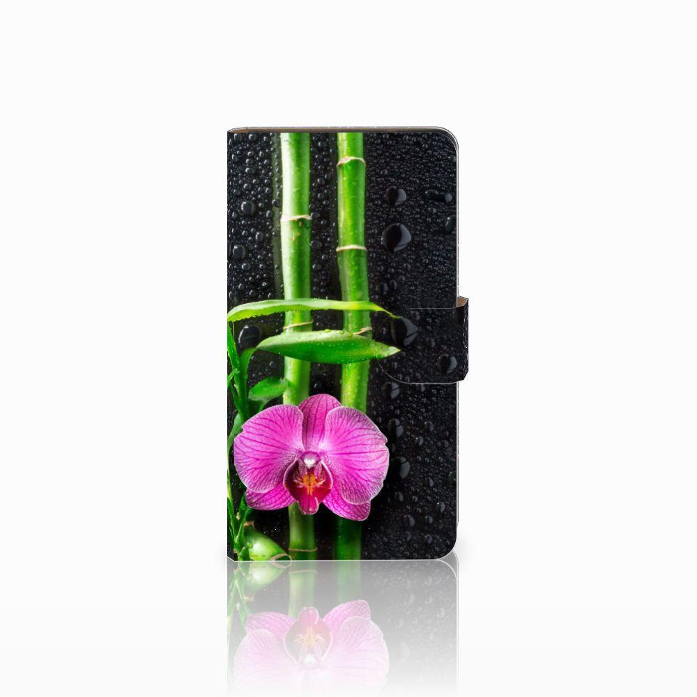 Huawei Ascend G700 Boekhoesje Design Orchidee