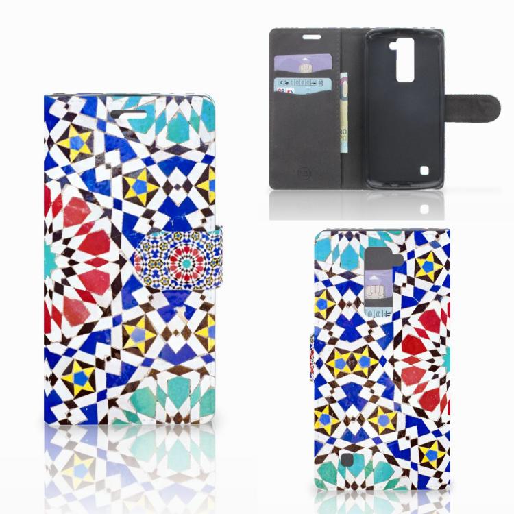 LG K10 2015 Bookcase Mozaïek