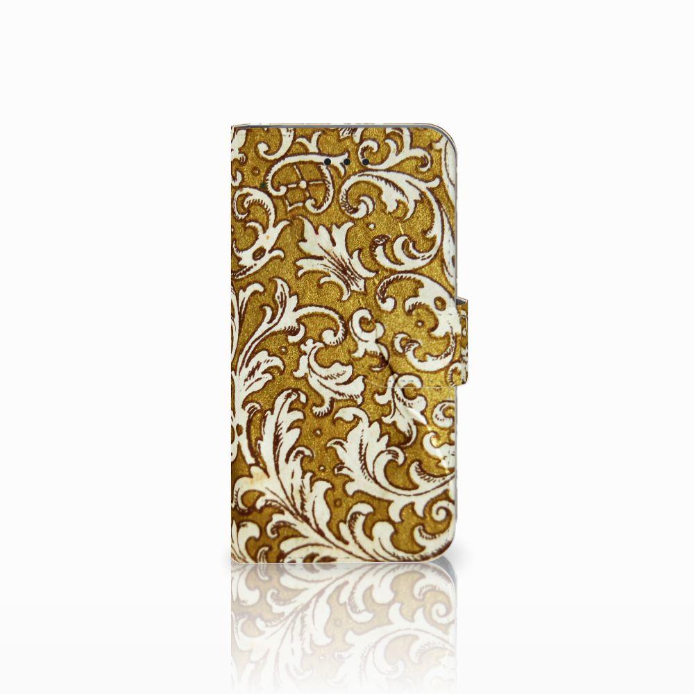 Apple iPhone X | Xs Boekhoesje Design Barok Goud