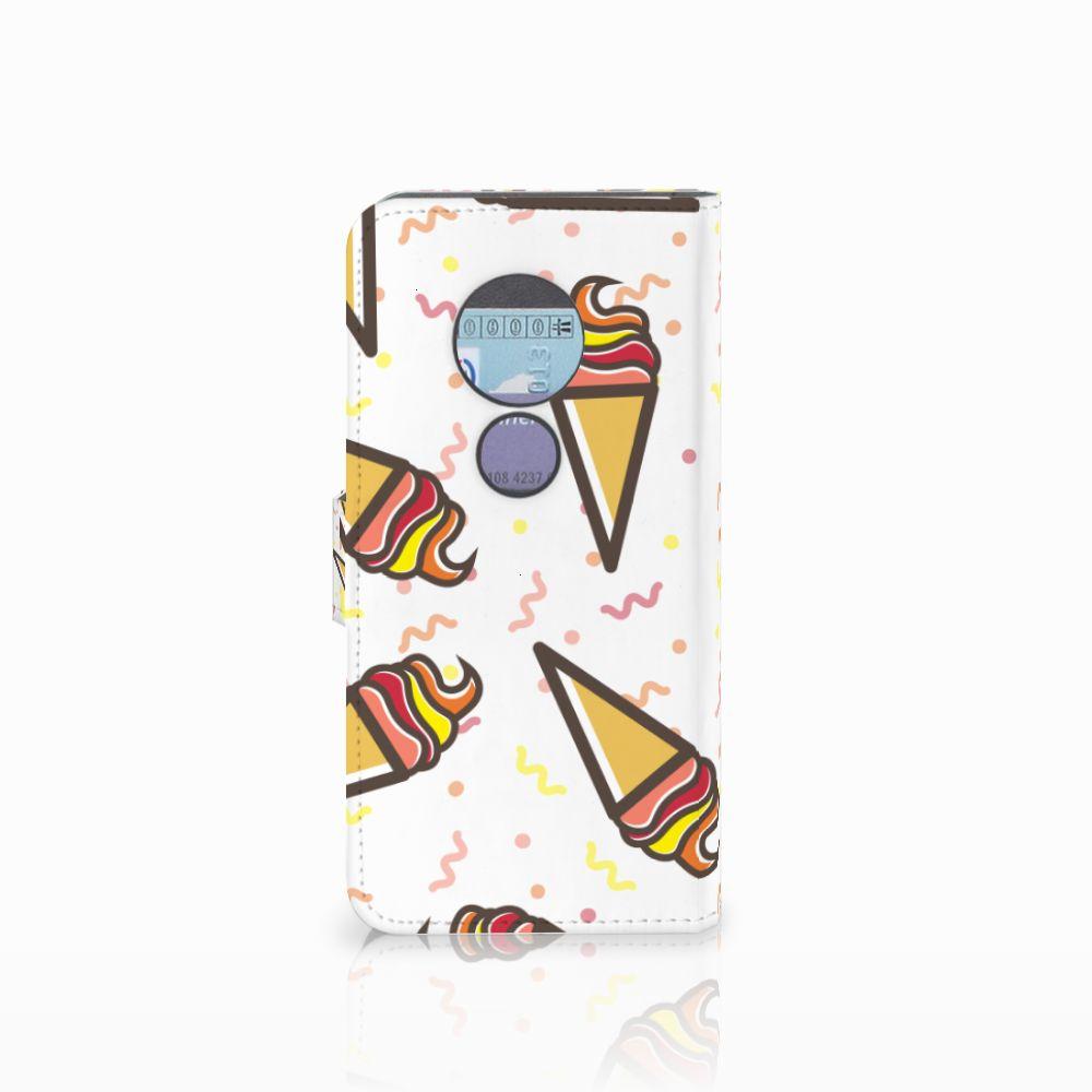 Motorola Moto G6 Play Book Cover Icecream