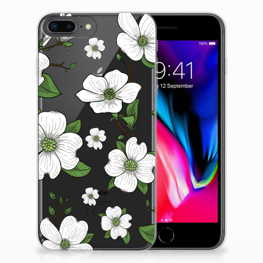 Apple iPhone 7 Plus | 8 Plus TPU Case Dogwood Flowers