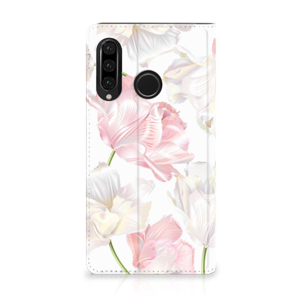 Huawei P30 Lite Standcase Hoesje Design Lovely Flowers