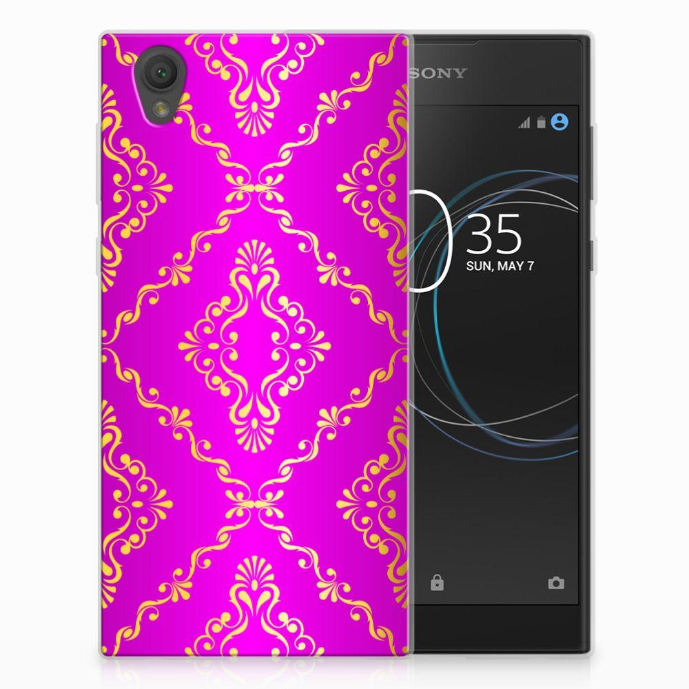 Siliconen Hoesje Sony Xperia L1 Barok Roze