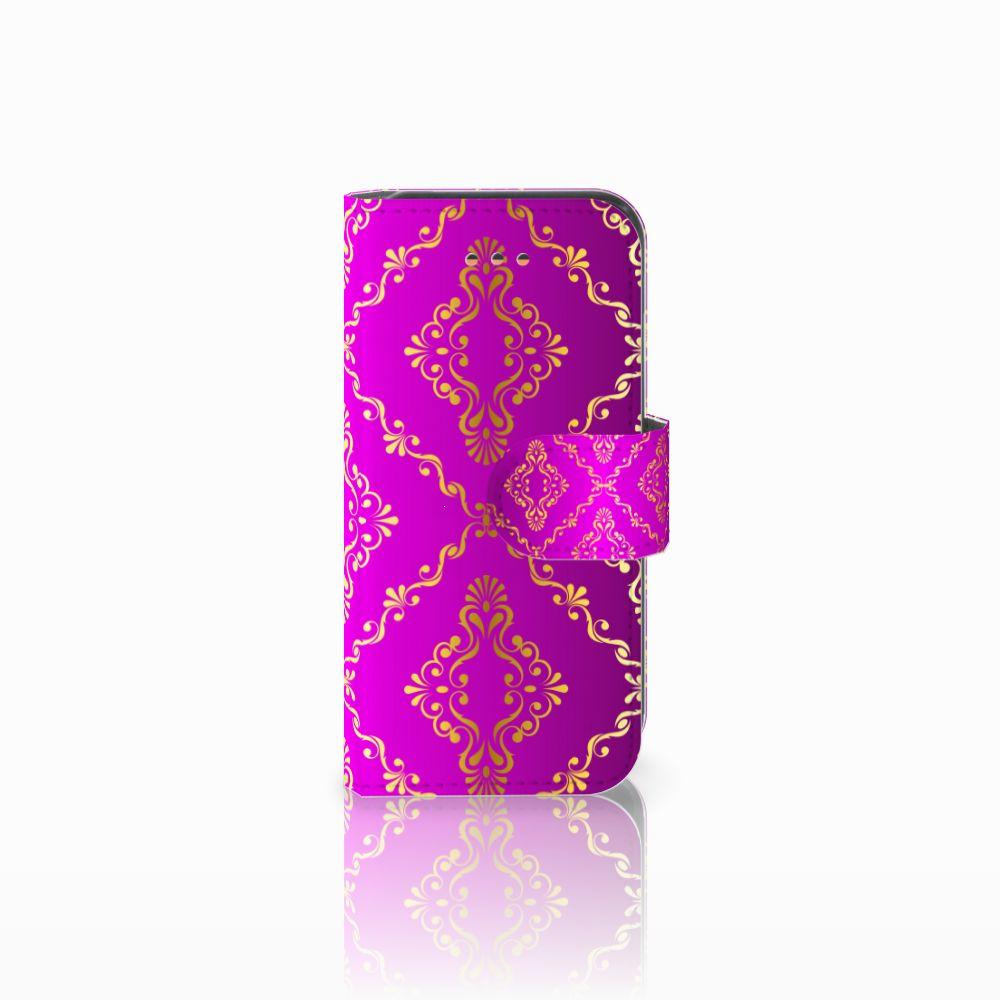 Wallet Case Apple iPhone 5C Barok Roze