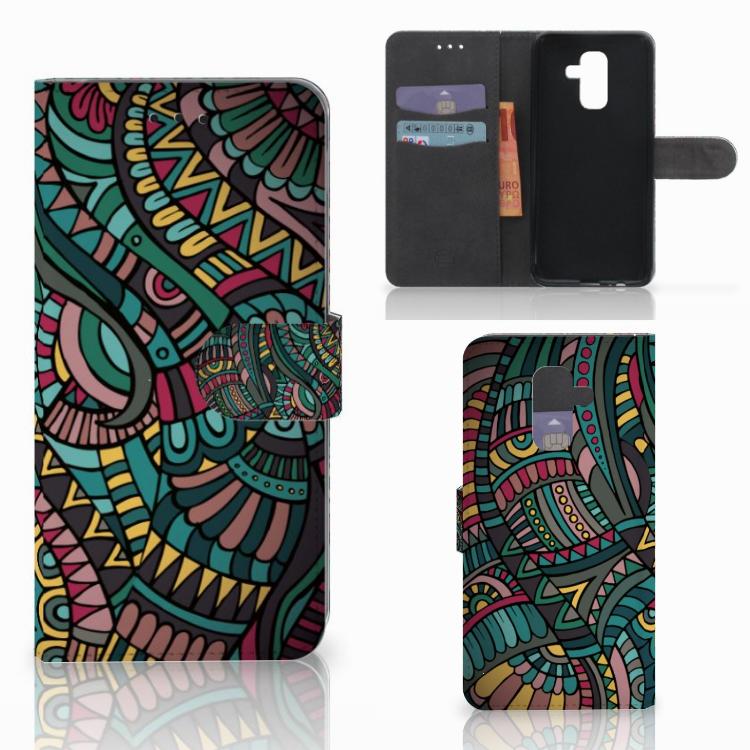 Samsung Galaxy A6 Plus 2018 Telefoon Hoesje Aztec