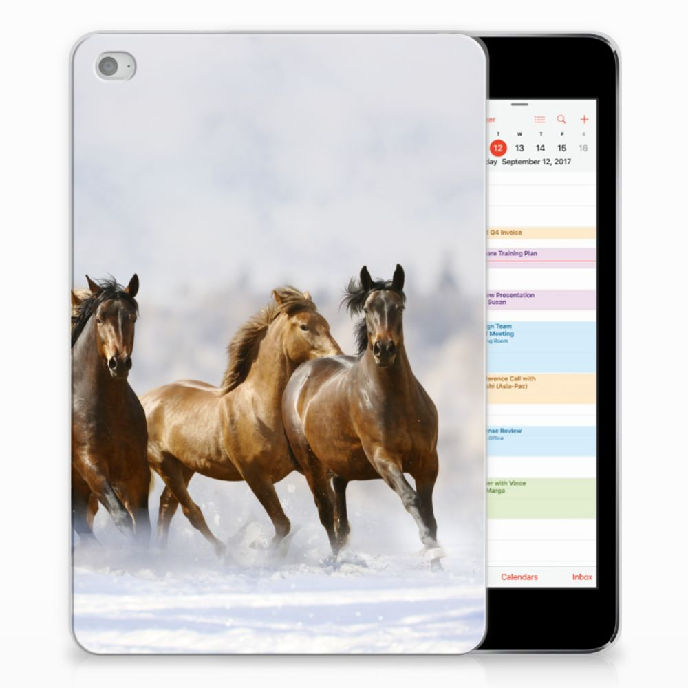 Apple iPad Mini 4 | Mini 5 (2019) Back Case Paarden