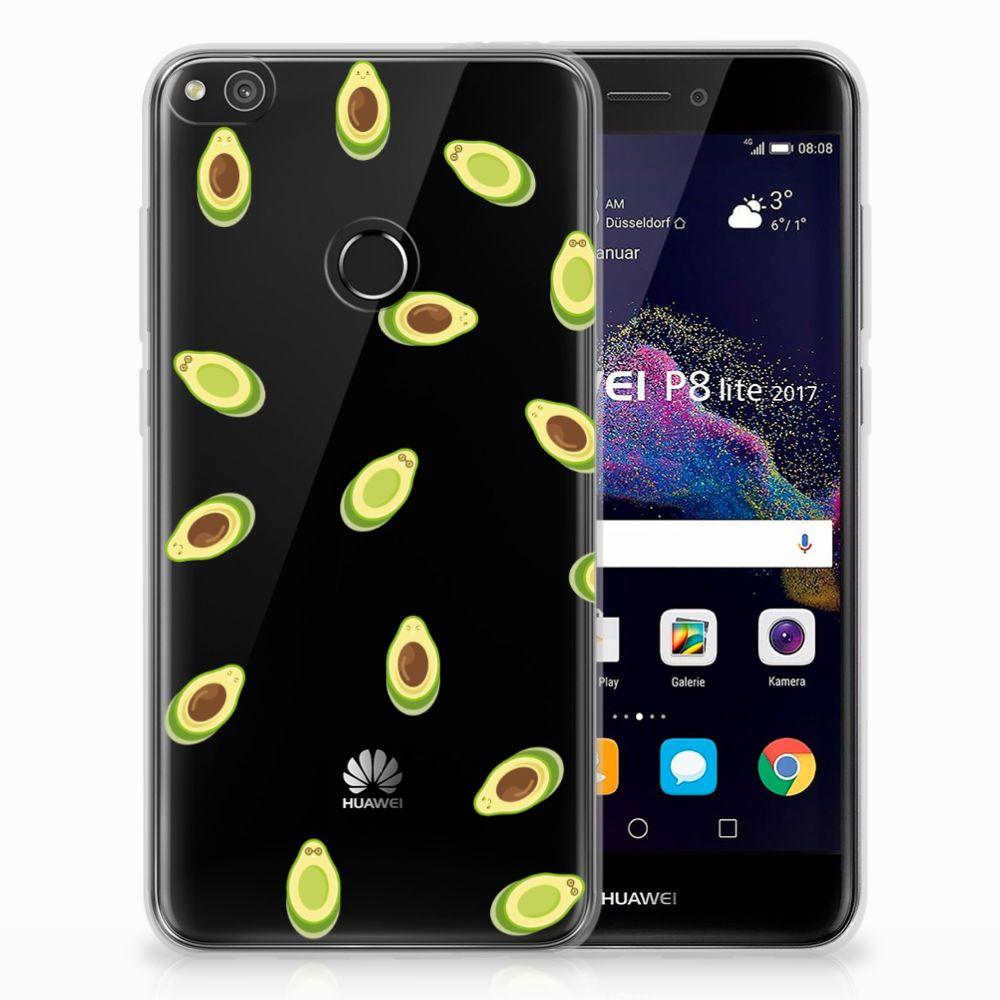 Huawei P8 Lite 2017 Siliconen Case Avocado