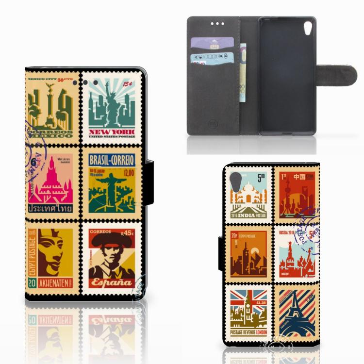 Sony Xperia E5 Flip Cover Postzegels