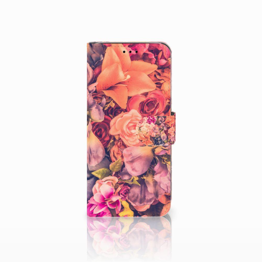Samsung Galaxy A6 2018 Boekhoesje Design Bosje Bloemen