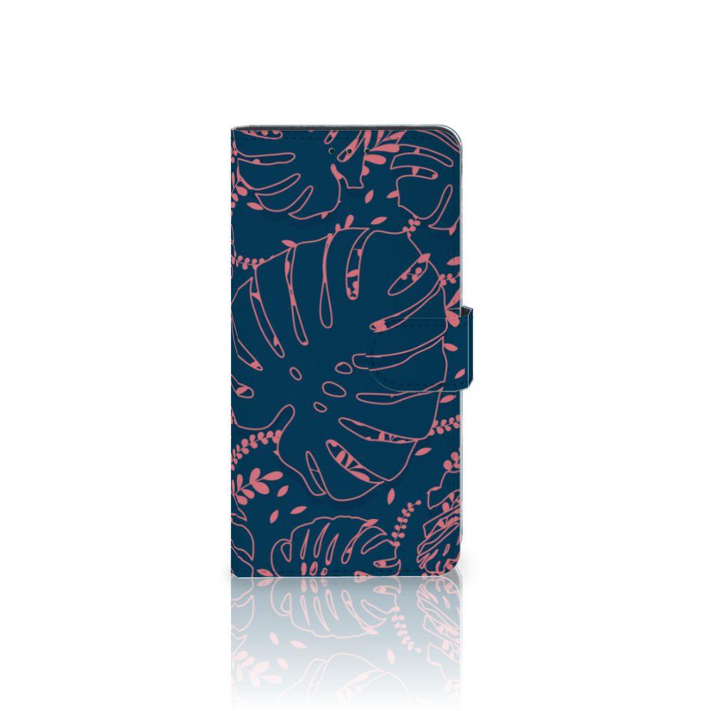 Samsung Galaxy A7 (2018) Boekhoesje Design Palm Leaves