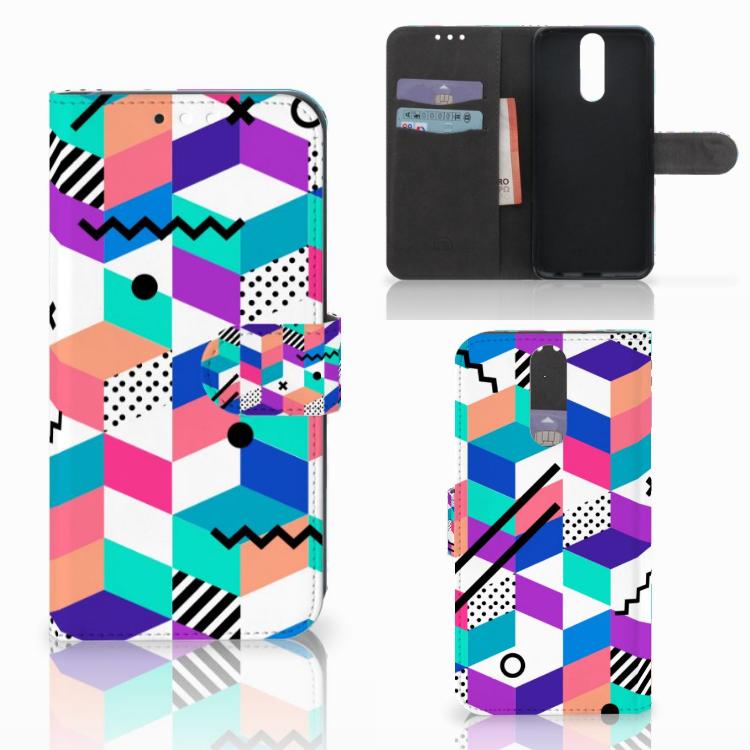 Huawei Mate 10 Lite Bookcase Blokken Kleurrijk