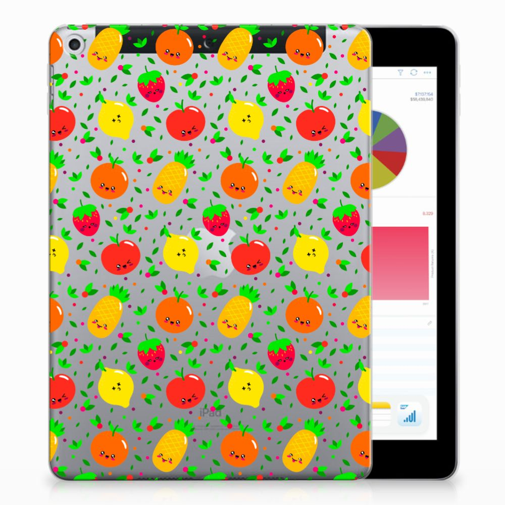 Apple iPad 9.7 2018 | 2017 Tablethoesje Design Fruits