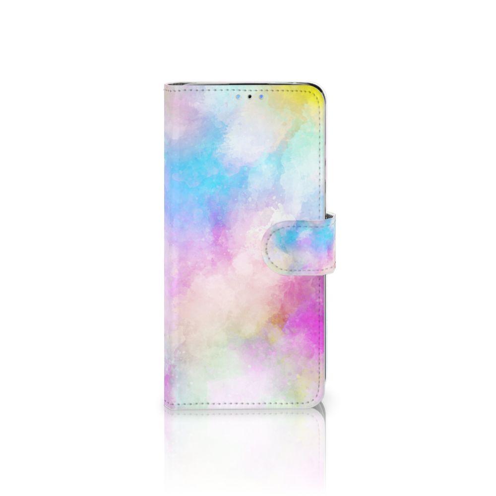Huawei P30 Lite Uniek Boekhoesje Watercolor Light